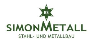 Logo Simon Metall - Stahl- und Metallbau