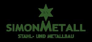 Logo Simon Metall - Stahl- und Metallbau grün